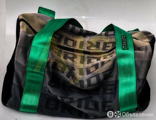 Bride Сумка ремни зеленые по цене 2620₽ - Рюкзаки, фото 0