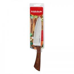 Аксессуары и комплектующие - Нож поварской FOREST 15см Attribute AKF128, 0