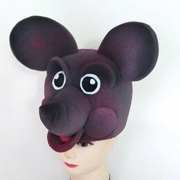 Карнавальные и театральные костюмы - Шапочка-маска Мышка, 0