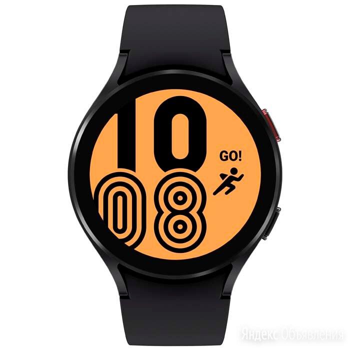 Умные часы Samsung Galaxy Watch4 44mm (SM-R870NZKACIS, черный) по цене 17990₽ - Умные часы и браслеты, фото 0