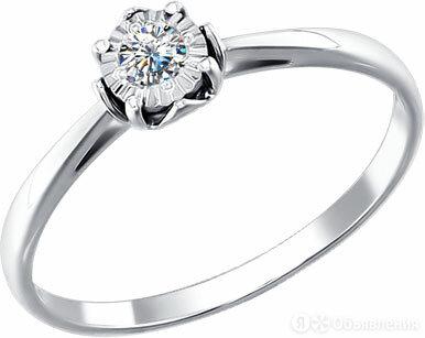 Помолвочное кольцо SOKOLOV 1011069_s_16 по цене 24690₽ - Кольца и перстни, фото 0