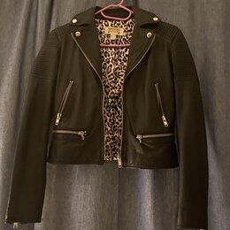 Куртки - Кожаная куртка косуха, 0