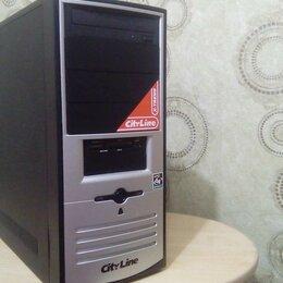 Настольные компьютеры - Игровой ПК i-5, asus sabertooth, 18 gb ОЗУ, 740 gb ssd+hdd, Msi GeForce 1050ti, 0