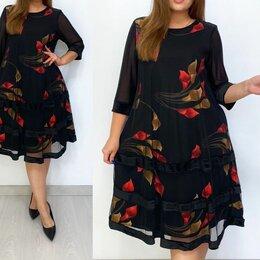 Платья - Нарядное вечернее платье большого размера р-ры 50-64, 0