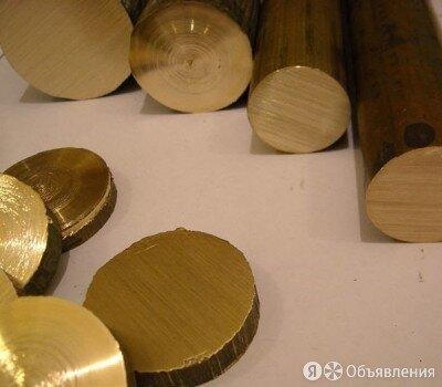 Круг латунный 40 мм ЛС59-1 ГОСТ Р 52597-2006 по цене 437₽ - Металлопрокат, фото 0