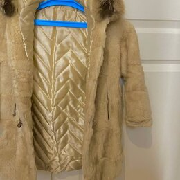 Куртки и пуховики -  детская шуба на девочку из норки, 0