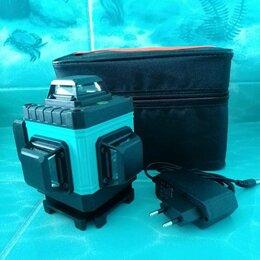 Измерительные инструменты и приборы - Нивелир лазерный 4d зелёный 16 лучец, 0