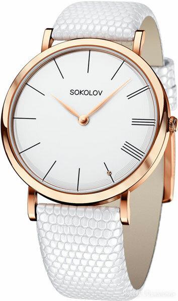Наручные часы SOKOLOV 204.01.00.000.01.02.2 по цене 89090₽ - Наручные часы, фото 0