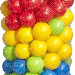 Шарики для сухих бассейнов - Набор шаров для сухого бассейна 100 шт в сетке SB57-100, 0
