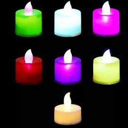 Ночники и декоративные светильники - Светодиодные декоративные свечи, 0