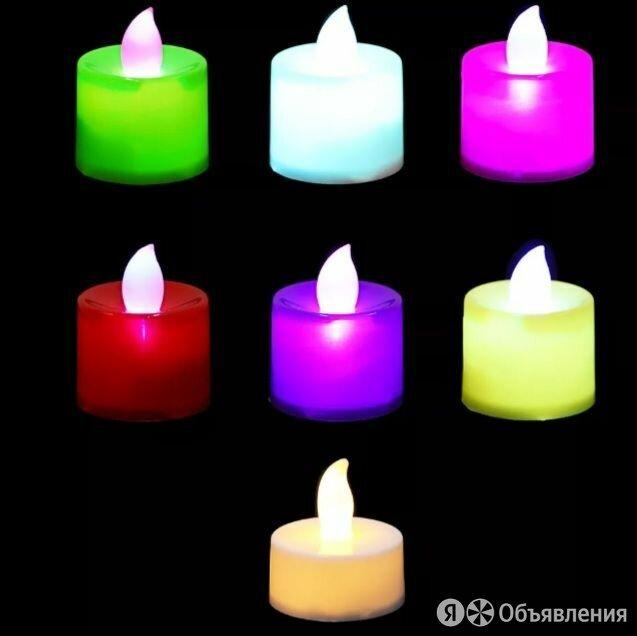 Светодиодные декоративные свечи по цене 35₽ - Ночники и декоративные светильники, фото 0