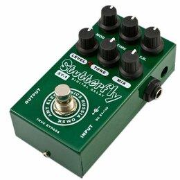Аксессуары и комплектующие для гитар - AMT SY-1 Stutterfly Цифровой дилей для гитар, AMT Electronics, 0