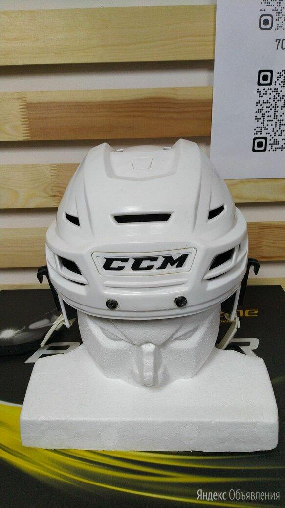 Шлем CCM Resistance (Б/У)    Размеры: L , Белый  по цене 3500₽ - Спортивная защита, фото 0