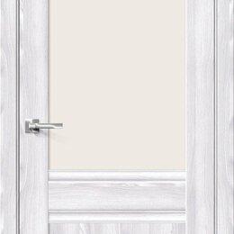 Межкомнатные двери - Межкомнатная дверь с экошпоном Прима-3.1 Riviera Ice   Magic Fog, 0