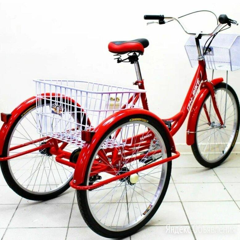 Трехколесный велосипед для взрослых по цене 18000₽ - Велосипеды, фото 0