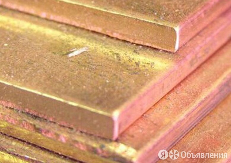 Лист бронзовый 5 мм БрХ по цене 618₽ - Металлопрокат, фото 0