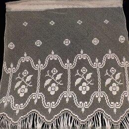 Шторы - Две занавески филейные ажурные, винтаж 115х150, 0