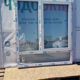 Окна - Окно, ПВХ Veka 58мм, 1670(В)х1470(Ш) мм, поворотно-откидное, т-двухстворчатое, 0