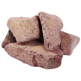 Камни для печей - Камень для бани Банные Штучки Кварцит малиновый об, 0