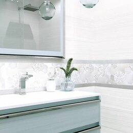 Керамическая плитка - Diamond white wt11dai00 плитка настенная 200*600 нк, 0