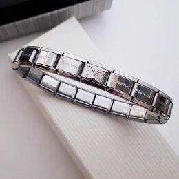 Браслеты - Браслет Butterfly Silver Steel Nomination Style (R874) , 0