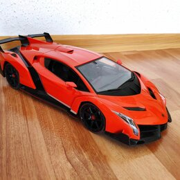 Радиоуправляемые игрушки - Радиоуправляемая машинка Lamborghini Veneno, 0