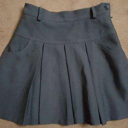Юбки - Детская черная юбка для девочки, 0