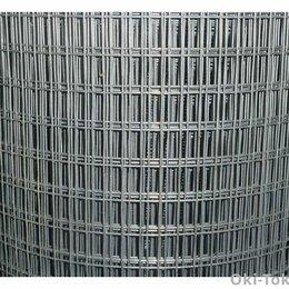 Заборчики, сетки и бордюрные ленты - Сетка сварная оцинкованная 25*12,5 (1,0*50) д1, 6, 0