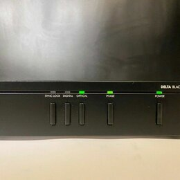 Цифро-аналоговые преобразователи - Arcam Delta Black Box 5 DAC made in the UK, 0