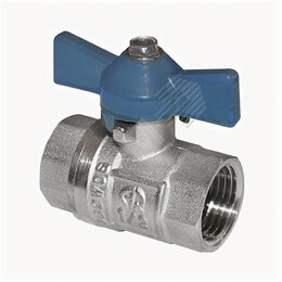 Краны для воды - AQUALINK Кран  шаровый AQUALINK муфта/муфта бабочка сальник Ду- 15 (уп 120шт), 0