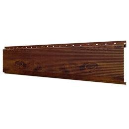 Стеновые панели - Линеарная потолочно-стеновая панель РИФЛЕНАЯ Каштан Printech Корея, 0