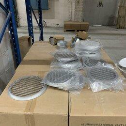 Вентиляционные решётки - Решетка наружная круглая IGC 125 для вентиляции, 0