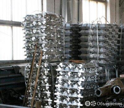 Чушка алюминиевая СвА99 ГОСТ 4784-97 по цене 210₽ - Металлопрокат, фото 0