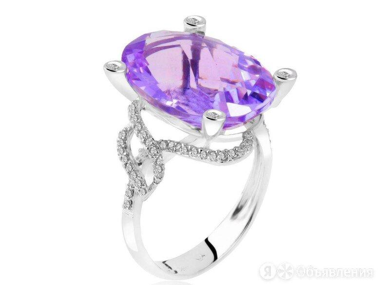 Золотое кольцо с аметистом 9.55ct по цене 67500₽ - Комплекты, фото 0