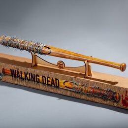 """Бейсбол - Бейсбольная бита Нигана, Люсиль из т/с """"The Walking Dead"""", 0"""