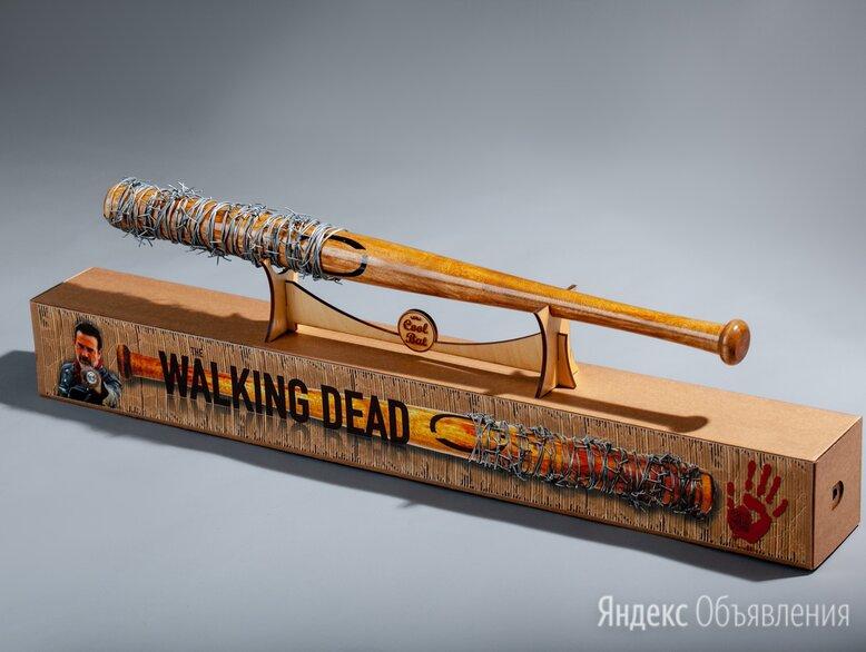 """Бейсбольная бита Нигана, Люсиль из т/с """"The Walking Dead"""" по цене 4500₽ - Бейсбол, фото 0"""