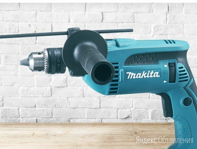 """Дрель ударная """"makita"""" hp1620 650 вт. 13 мм. 2800 об/мин. по цене 6000₽ - Дрели и строительные миксеры, фото 0"""