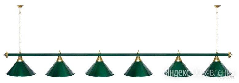 Лампа для бильярдного стола 11-12 футов 6 плафонов - Без специальной подготовки, фото 0