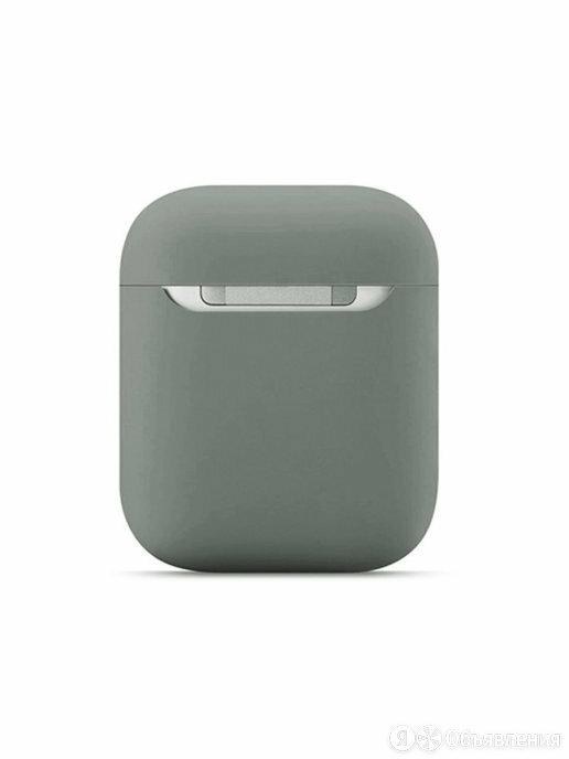 Силиконовый ультратонкий кейс AirPods 2 Silicone Case (серый) 9055 по цене 250₽ - Аксессуары для наушников и гарнитур, фото 0