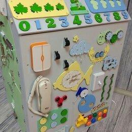 Развивающие игрушки - Бизиборд домик , 0