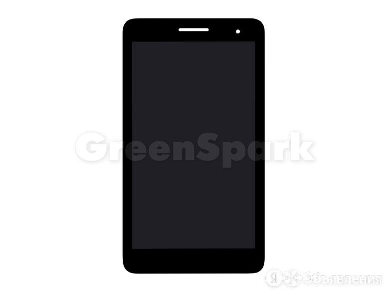 Дисплей для Huawei Mediapad T1-701 + тачскрин (черный) по цене 1550₽ - Дисплеи и тачскрины, фото 0