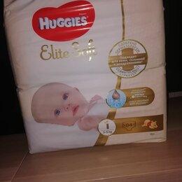 Подгузники - Хаггис элит софт 1 для новорожденных, 0