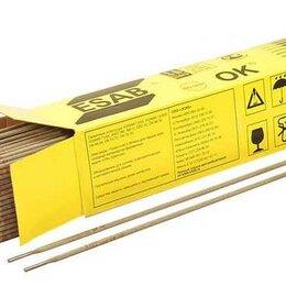 Электроды, проволока, прутки - ЭСАБ Электроды ОК-46 3мм (упаковка 5,3кг.), 0
