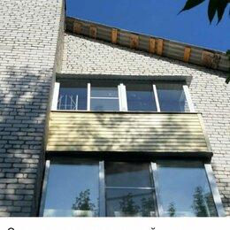 Окна - Остекление и отделка балкона с крышей, Рыбинск, компания Идеал, 0