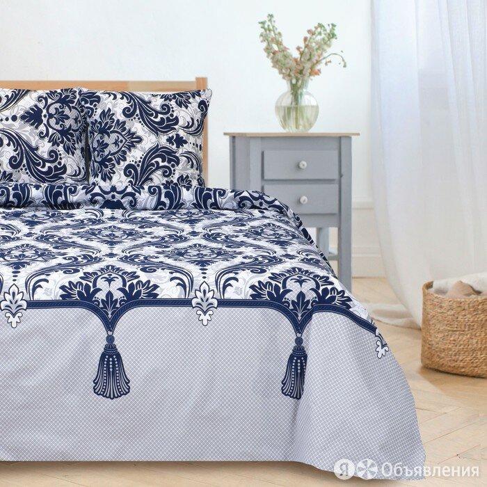 Постельное бельё 'Этель' 1.5 сп Дамаск (вид 3) 143*215 см, 150*214 см, 70*70 ... по цене 2593₽ - Кровати, фото 0
