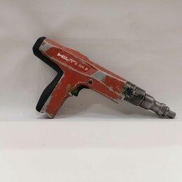 Гвоздескобозабивные пистолеты и степлеры - Пороховой монтажный пистолет Hilti DX 2, 0
