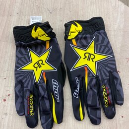 Мотоэкипировка - Перчатки RockStar для мотокросса, 0
