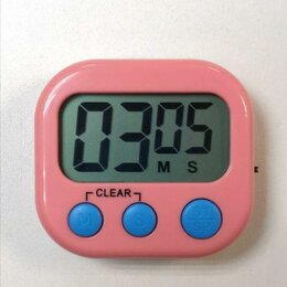 Термометры и таймеры - Магнитный кухонный электронный таймер BK-331, 0