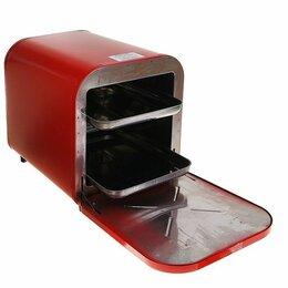 Духовые шкафы - Жарочный шкаф кедр шж-0,625/220 красный, 0
