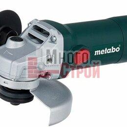 Электро- и бензопилы цепные - УШМ  W 650-125 METABO, 0